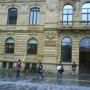 Limpieza de Cristales en altura en Bilbao.  Bizkaia
