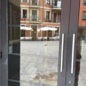 Eliminación graffiti en Ayuntamiento Bilbao